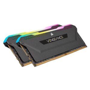Memória CORSAIR Vengeance RGB PRO SL KIT 32GB 2X16GB DDR4 3600MHz