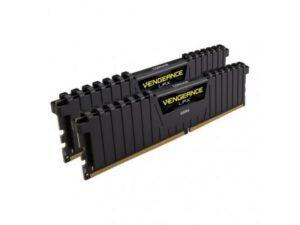 MEMÓRIA CORSAIR Vengeance LPX Black KIT 16GB 2X8GB DDR4 3000