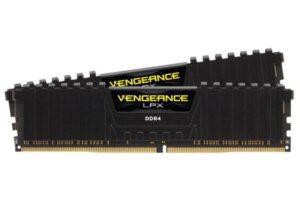 MEMÓRIA CORSAIR Vengeance LPX Black KIT 16GB 2X8GB DDR4 3200