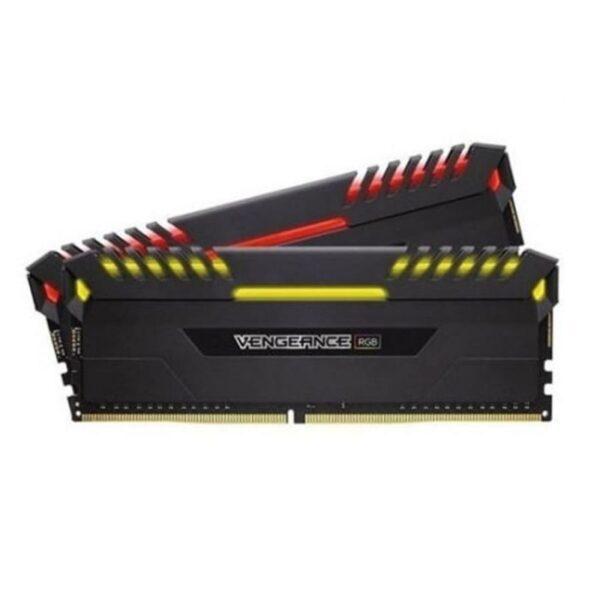 Memória CORSAIR Vengeance RGB KIT 16GB 2X8GB DDR4 3200MHz