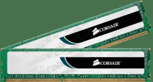 MEMÓRIA CORSAIR Value KIT 4GB 2X2GB DDR3 1333MHz CL9 PC10600