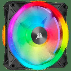 Ventoinha CORSAIR ICUE QL120 RGB PWM Fan 120mm - CO-9050097-