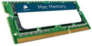 MEMÓRIA CORSAIR SODIMM 8GB DDR3 1333MHz MAC - CMSA8GX3M1A133