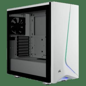 CAIXA CORSAIR Carbide SPEC-06 RGB Tempered Glass Branca