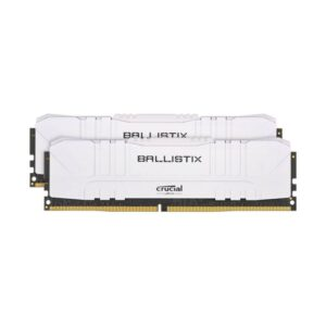 Memória CRUCIAL Ballistix 32GB 2X16GB DDR4 2666MHz CL16 White