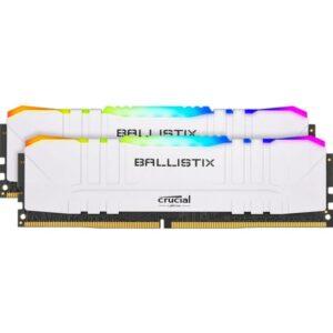 Memória CRUCIAL Ballistix RGB 32GB 2X16GB DDR4 3000MHz CL15