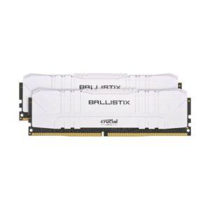 Memória CRUCIAL Ballistix 16GB 2X8GB DDR4 3200MHz CL16 Branc