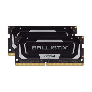 Memória CRUCIAL Ballistix SODIMM 32GB 2X16GB DDR4 2666MHz