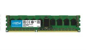 MEMÓRIA CRUCIAL 4GB DDR3 1600MHz ECC PC12800 CL11