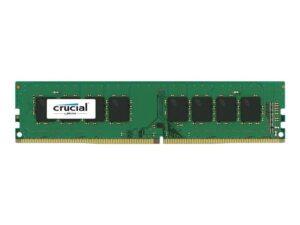 MEMÓRIA CRUCIAL 4GB DDR4 2400MHz CL17 - CT4G4DFS824A