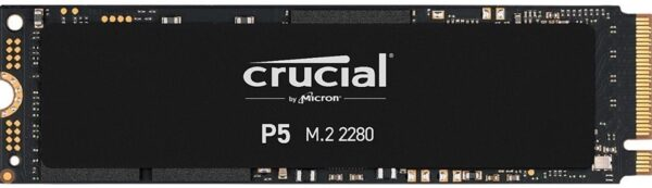 SSD CRUCIAL SSD P5 2TB M.2 NVMe PCIe - CT2000P5SSD8