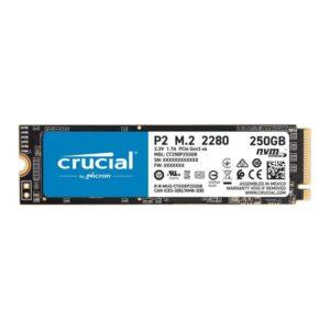 SSD CRUCIAL P2 250GB M.2 NVMe PCIe - CT250P2SSD8