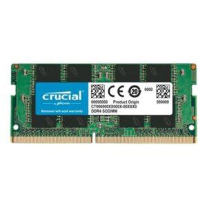 Memória CRUCIAL SODIMM 16GB DDR4 2666MHz CL19 - CT16G4SFRA266