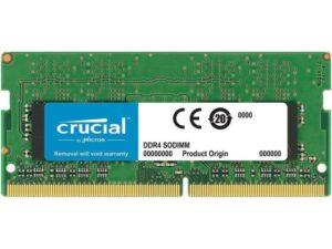 MEMÓRIA CRUCIAL SODIMM 16GB DDR4 2400MHz MAC - CT16G4S24AM