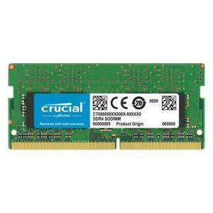 Memória CRUCIAL SODIMM 4GB DDR4 2666MHz CL19 - CT4G4SFS8266