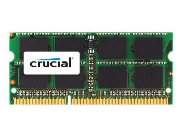 MEMÓRIA CRUCIAL SODIMM 4GB DDR3 1333MHz MAC - CT4G3S1339M