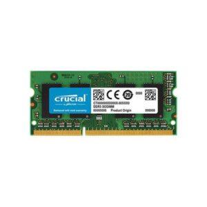 Memória CRUCIAL SODIMM 8GB DDR3 1600MHz PC12800 MAC