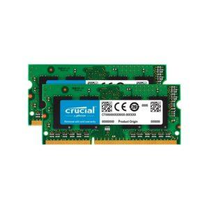Memória CRUCIAL SODIMM KIT 8GB 2X4GB DDR3L 1333MHz 1.35V MAC