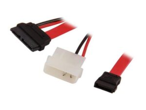 Adaptador DELOCK Slim SATA 13p F P/Molex+SATA 7p- 84390