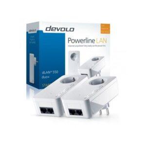 Powerline DEVOLO Kit 2 Uni. dLAN 550 Duo+ 500Mbit - PT9303