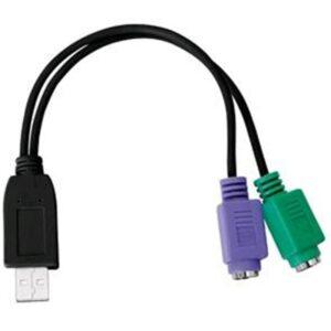 Adaptador USB P/Ps2 M/F (Teclado/Rato)