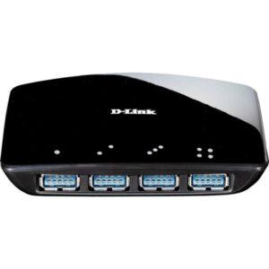Hub D-LINK 4 Portas USB 3.0 - DUB-1340