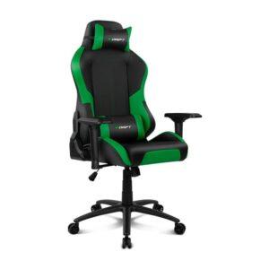 Cadeira Gaming DRIFT DR250 Black/Green