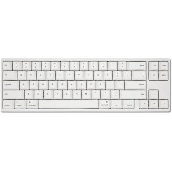 Teclado DUCKY MIYA Pro MAC (PC) TKL MX Speed Silver White LED 65%