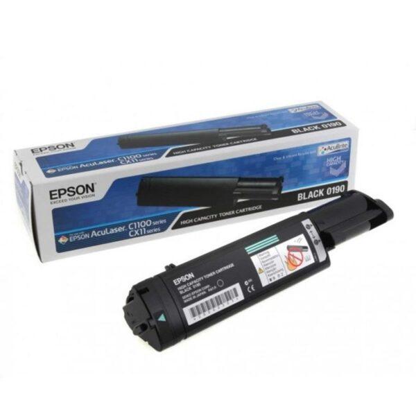 Toner EPSON C1100/CX11N/NF/NFC Preto - C13S050190