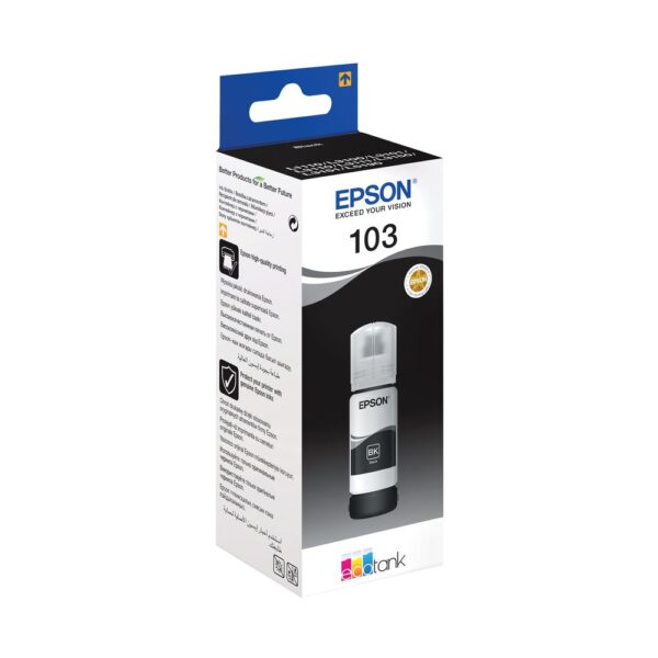 Tinteiro EPSON T00S1 (103) Preto