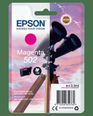 Tinteiro EPSON T02V3 (502) Magenta