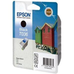 Tinteiro EPSON T036 Preto - C13T036140LB