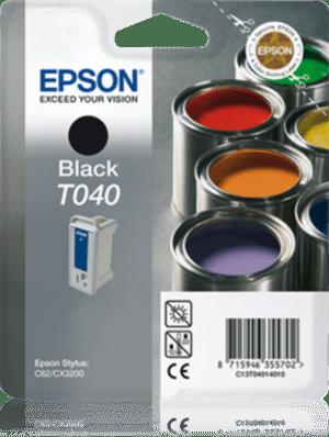 Tinteiro EPSON T040 Preto - C13T040140