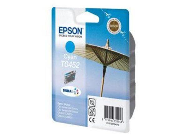 Tinteiro EPSON T0452 Cyan - C13T04524020