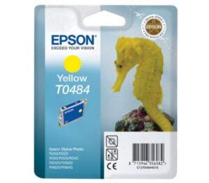 Tinteiro EPSON T0484 Amarelo - C13T04844020