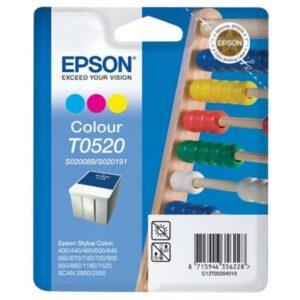 Tinteiro EPSON T0520 Cores - C13T05204020