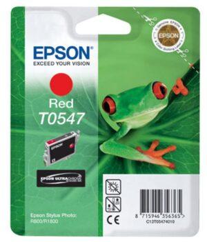 Tinteiro EPSON T0547 Vermelho - C13T05474010