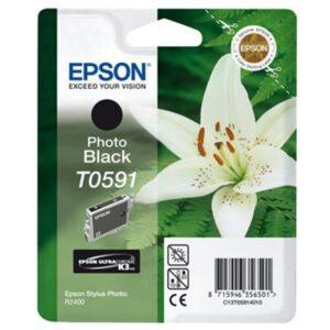Tinteiro EPSON T0591 Preto - C13T059140