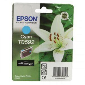 Tinteiro EPSON T0592 Azul - C13T059240