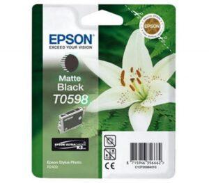 Tinteiro EPSON T0598 Preto Mate - C13T059840