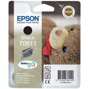 Tinteiro EPSON T0611 Preto - C13T061140