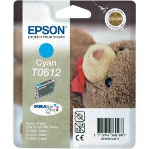 Tinteiro EPSON T0612 Cyan - C13T061240