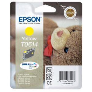 Tinteiro EPSON T0614 Amarelo - C13T061440