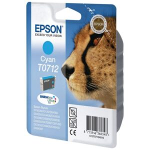 Tinteiro EPSON T0712 Cyan - C13T071240