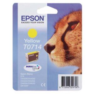 Tinteiro EPSON T0714 Amarelo - C13T071440