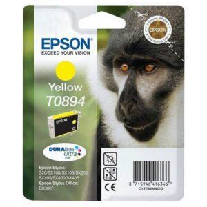 Tinteiro EPSON T0894 Amarelo - C13T08944020
