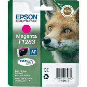 Tinteiro EPSON T1283 Magenta - C13T12834010
