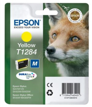 Tinteiro EPSON T1284 Amarelo - C13T12844010