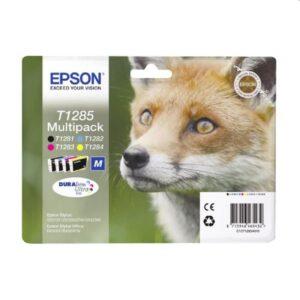 Tinteiro EPSON T1285 Quad Pack 4 Cores - C13T12854020