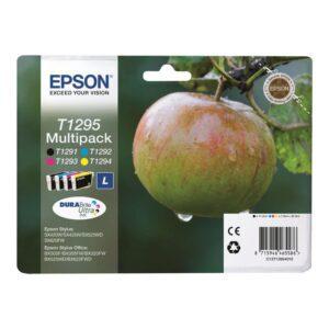 Tinteiro EPSON T1295 (12) Preto/Cyan/Magenta/Amarelo Multipack
